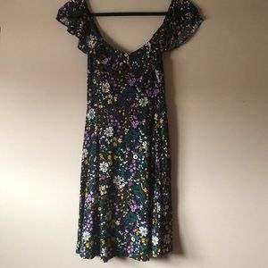 Old navy floral printed dress